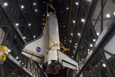DISCOVERY im VAB